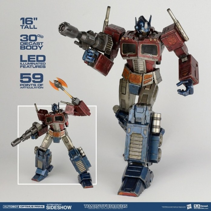 [파격 할인][3A] 트랜스포머 옵티머스프라임 클래식에디션 (Hasbro x ThreeA Transformers Generation One OPTIMUS PRIME CLASSIC EDITION)
