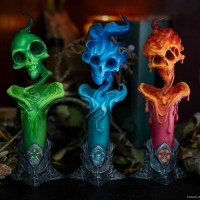 [예약상품][SIDESHOW] 사이드쇼 라이트 사이드 오브 다크니스 스태츄 The Lighter Side of Darkness: Faction Candle Statue Set Statue by Sideshow Collectibles