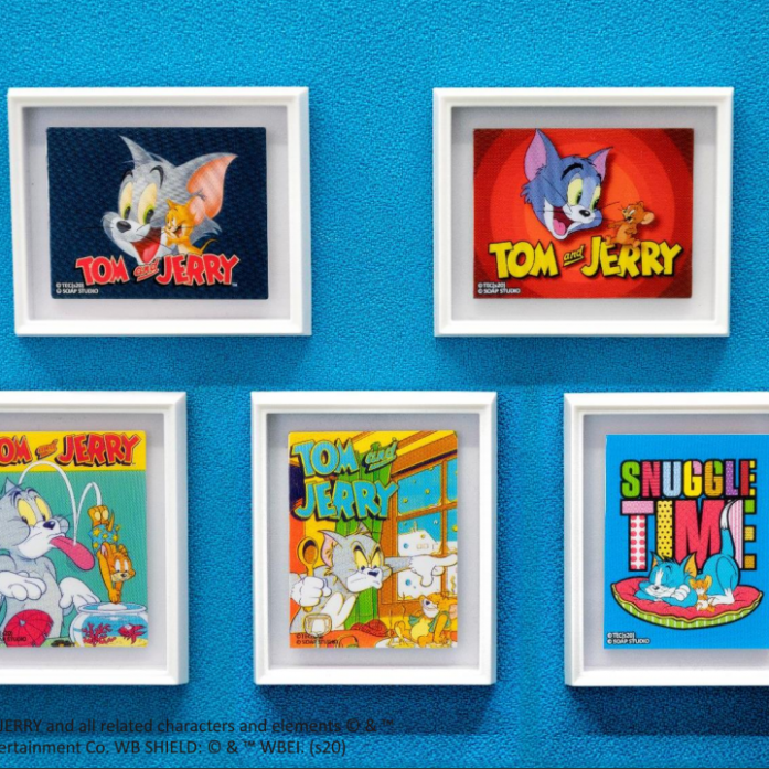 [예약상품][SOAP STUDIO] 톰과제리 마그넷 Tom and Jerry - Magnet Art Print Blind Box Mini Gallery Series Vol.1