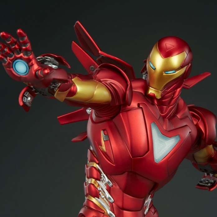 [신상품][입고완료][SIDESHOW] 아이언맨 마크2 스태츄(Iron Man Extremis Mark II Statue by Sideshow Collectibles)