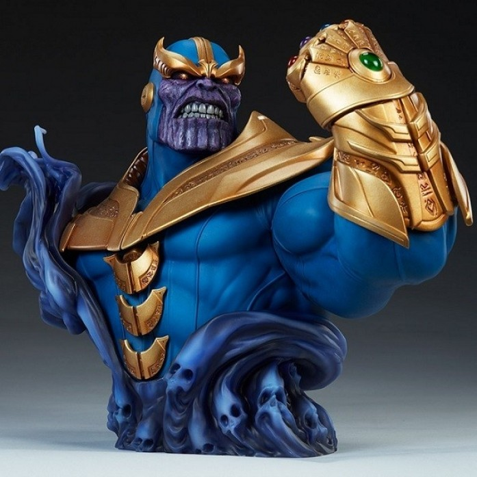 [예약상품][SIDESHOW] 타노스 버스트(Thanos Bust by Sideshow Collectibles)