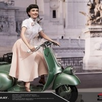 [예약상품][20년7월말예정][BLITZWAY] 로마의휴일 앤 공주 & 1951 베스파 스쿠터 , Roman Holiday Princess Ann & 1951 Vespa Scuter Superb Scale Statue (1/4 scale) Hybrid type